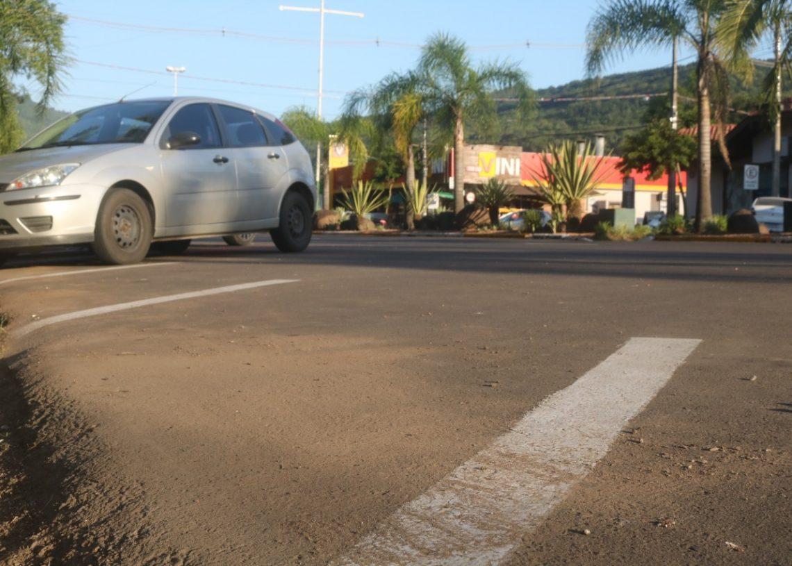 Mais vagas de estacionamento oblíquo estão entre as ideias.  Foto: Matheus de Oliveira