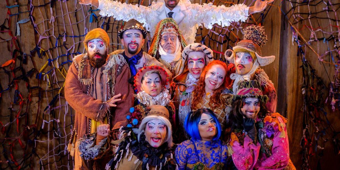 Espetáculo Cirquin estará na Faccat no dia 23 de novembro, às 20 horas.Foto: Juliano Kirinus/Divulgação
