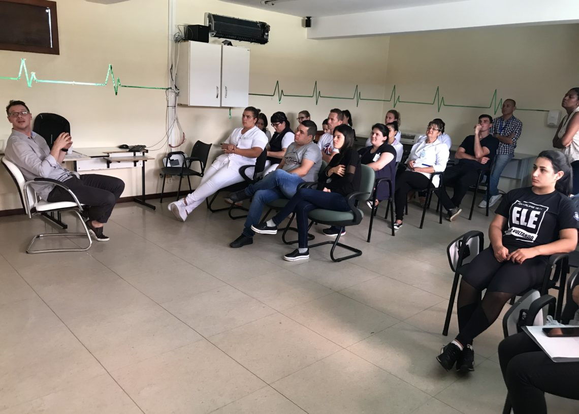 Foto: Larissa Pereira - Jornalista/Silvio Scopel Gestão Hospitalar