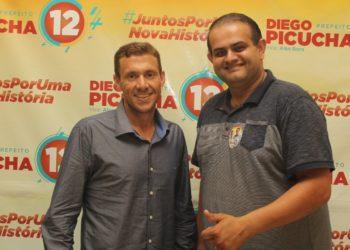 Diego Picucha (PDT) e Alex Bora (PL) estão no comando da Prefeitura de Parobé até 31 de dezembro Foto: Matheus de Oliveira