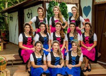 Onze candidatas concorrem ao título de rainha e princesas da 33ª Oktoberfest  Crédito:  Divulgação / Juliano Arnold