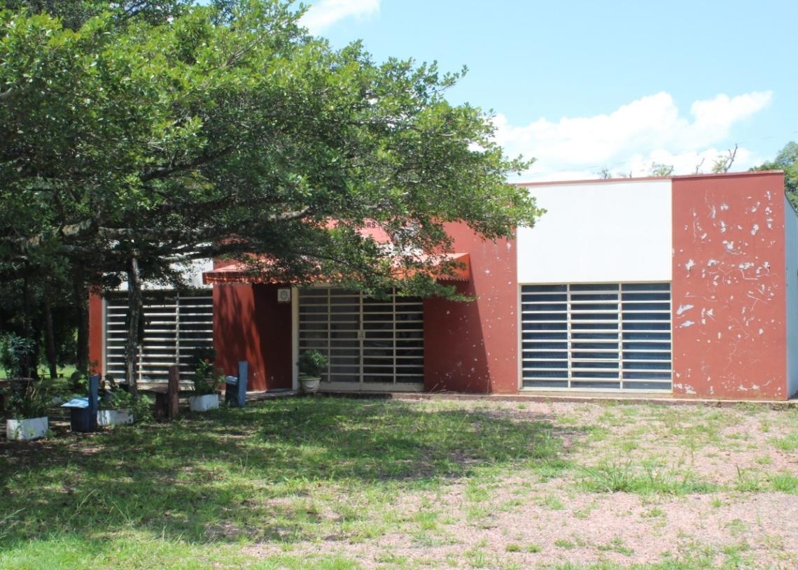 Prédio anexo ao Marsul é atualmente ocupado pelo museu municipal Adelmo Trott Foto: Matheus de Oliveira