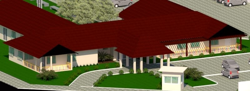 Projeção do projeto da nova escola | Foto: Prefeitura de Igrejinha