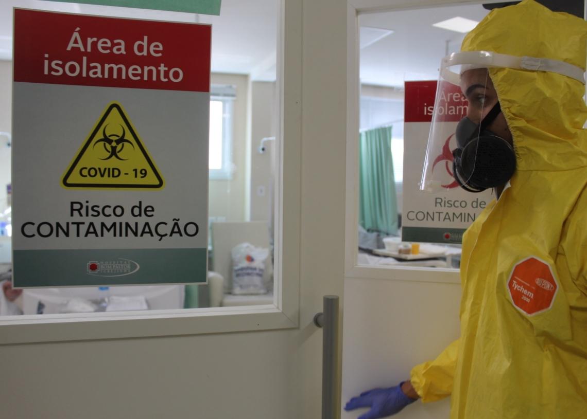 Situação dos EPI'S nas casas de saúde é considerada estável| Foto: Lilian Moraes