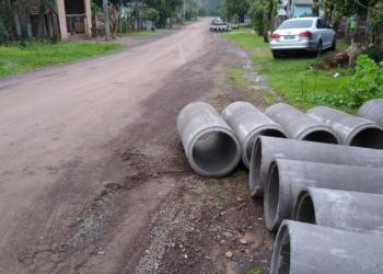 Obras ocorrem nas ruas Caibaté e Idelfonso da Silva. Foto: PMP
