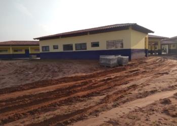 Escola de ensino fundamental terá capacidade para atender 180 alunos por turno Foto: Fabio Machado