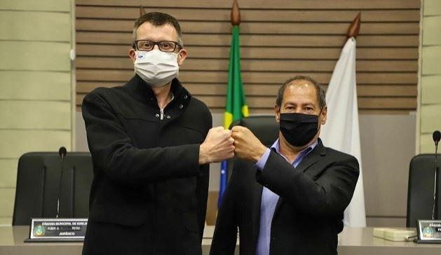 Nomes de Leandro Horlle para prefeito e Joãozinho Lopes para vice foram homologados Foto: Divulgação