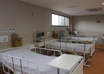 Dez leitos estão em operação no hospital desde a primeira semana de julho Fotos: Matheus de Oliveira