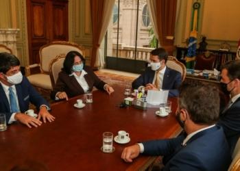 Ministra destacou importância da sanção da lei que cria banco de dados para prevenir desaparecimento de crianças e adolescentes - Foto: Felipe Dalla Valle / Palácio Piratini