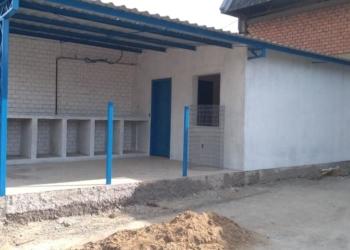 Em construção, Centro Municipal de Bem Estar Animal deve ficar pronto em 15 dias Foto: Divulgação/Secretaria de Meio Ambiente