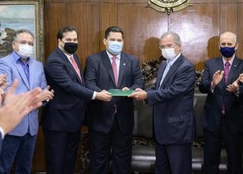Proposta de reforma foi entregue ao Congresso pelo ministro Paulo Guedes em 21 de julho. Foto: Divulgação