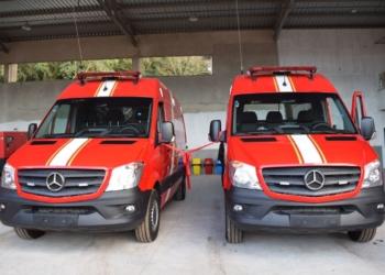 Outros dois veículos foram entregues há cerca de um ano. Foto: Divulgação/PMR
