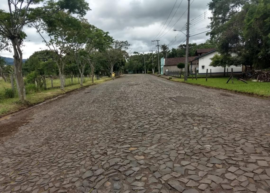 Avenida Borges de Medeiros está na lista para receber asfalto. Foto: Guilherme Muller/PMR