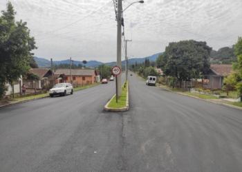 Mais de um quilômetro da avenida recebeu pavimentação asfáltica. Fotos: Divulga-Fotos: Divulga-ção/PMRção/PMR