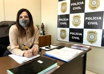 Delegada Rosane tem 21 anos à frente da PC   Foto: Melissa Costa