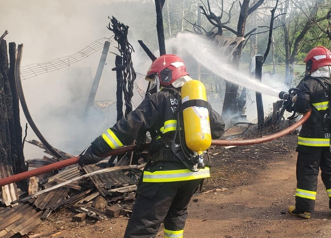 Foram mais de 92  combates a incêndio desde o mês de janeiro  Foto: Bombeiros de Igrejinha