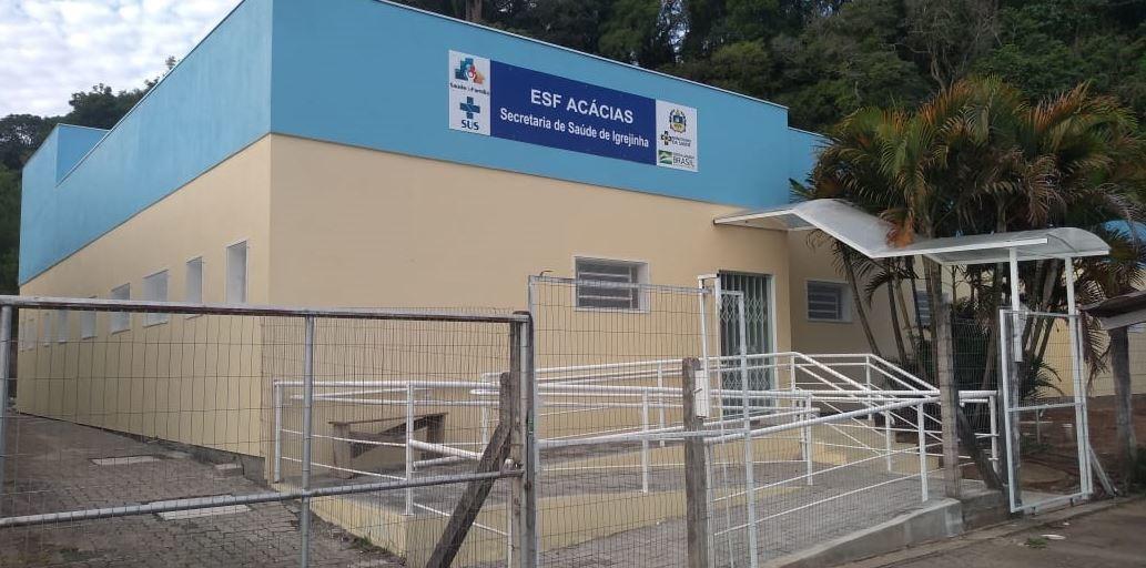 UBS Acácias no bairro Figueiras, em Igrejinha Foto: Fabio Machado
