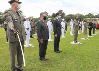 Cerimônia que contou com a participação do governador homenageou militares e civis que contribuíram com a instituição - Foto: Itamar Aguiar / Palácio Piratini