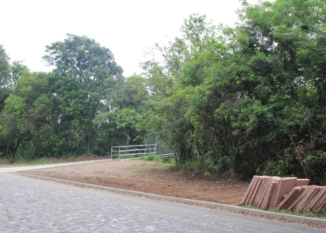 Pavimentação e drenagem já foram concluídas Fotos:  Lilian Moraes