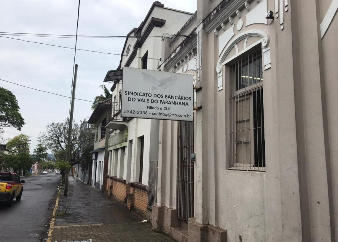 Sede da entidade fica na rua Tristão Monteiro, nº 1678, no Centro de Taquara Foto: Matheus de Oliveira