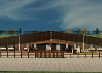 Projeção de como ficarão a fachada e os acessos aos escritórios  Foto: Reprodução