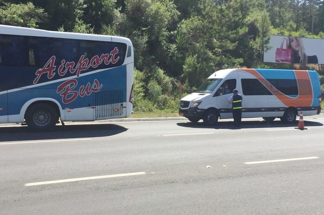 Daer conta com 34 profissionais para as operações de fiscalização que ocorrem nas estradas desde o início da pandemia - Foto: Divulgação / Daer