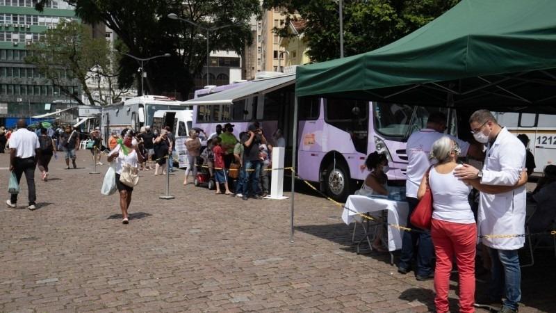 Mutirão itinerante de acolhimento a mulheres teve início em Porto Alegre e seguiu para o interior - Foto: Itamar Aguiar / Palácio Piratini / Arquivo