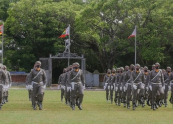 Na capital, cerimônia que formou 172 alunos-soldados ocorreu no campo de futebol do Estádio General Cipriano - Foto: Felipe Dalla Valle / Palácio Piratini