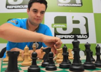 Enxadrista venceu a última edição do JUGS Foto: Matheus de Oliveira