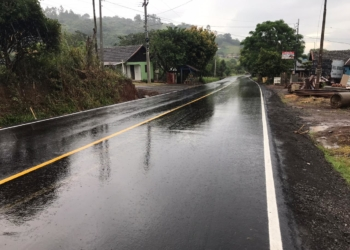 Estrada do Morro da Figueira também dá acesso às localidades de Rolantinho e Alto Rolantinho Foto: Matheus de Oliveira
