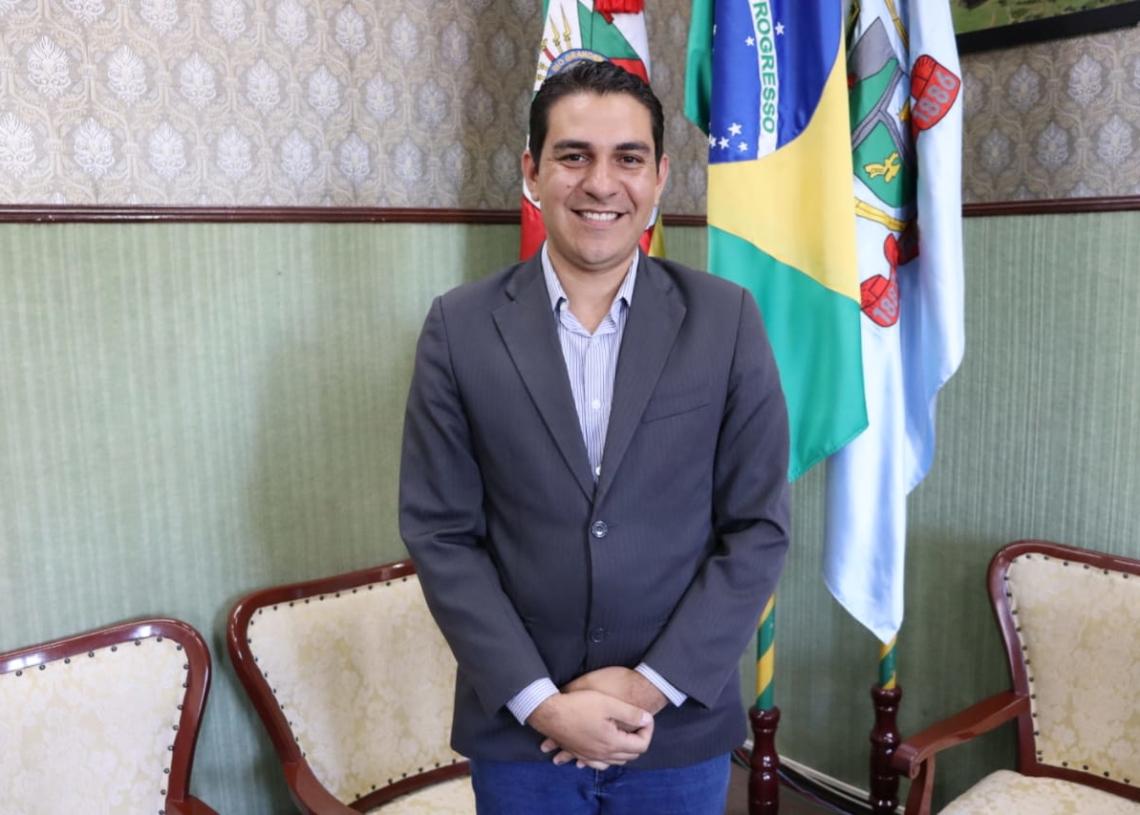 Matheus Modler, novo coordenador da Defesa Civil municipal. Foto: Cris Vargas