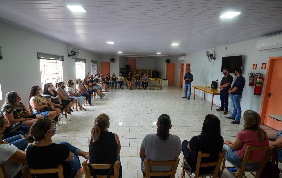 Reunião ocorreu na segunda-feira (25). Foto: Divulgação