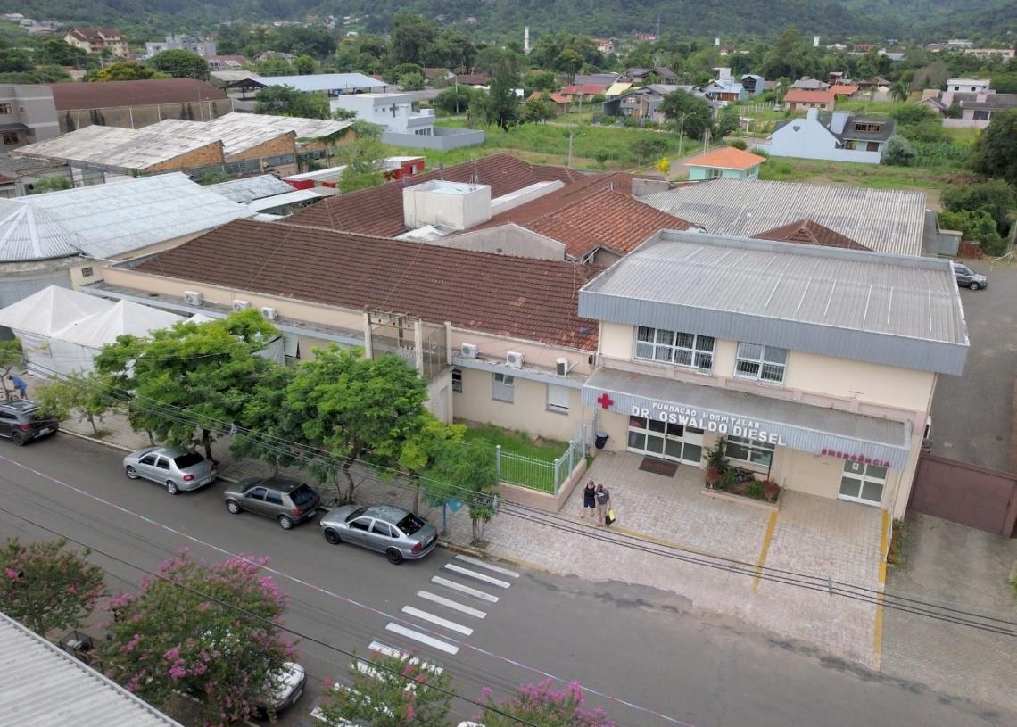 164 placas serão instaladas no hospital Foto: Divulgação