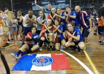 Projetos conquistaram o título da Copa Dal Ponte de Futsal na categoria sub-14 | Foto: Divulgação/PSG