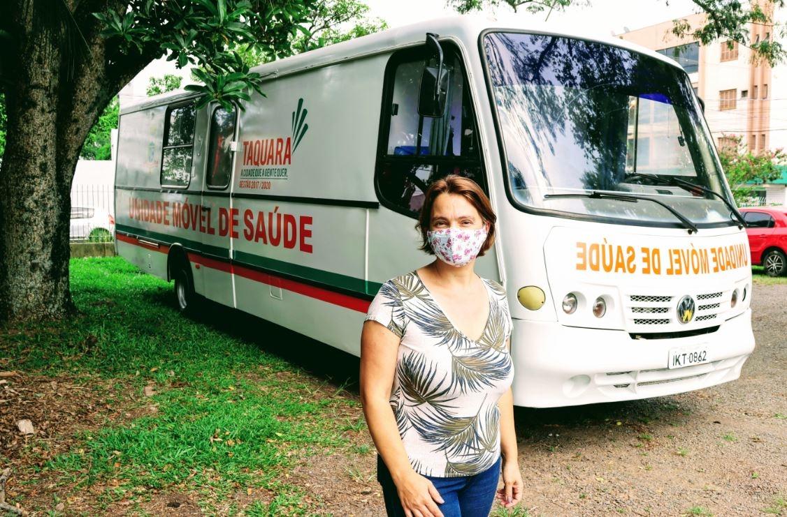 Diretora de Saúde, Mariane Farias da Silva Foto: Cris Vargas