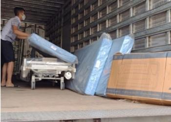 Camas foram entregues a hospitais para permitir a abertura de novos leitos - Foto: Divulgação / SES