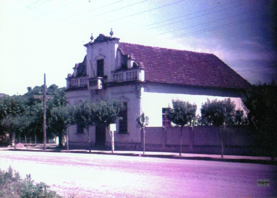 Antigo prédio da Prefeitura Municipal. Foto: Arquivo/Museu Histórico de Rolante