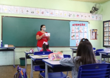Aulas do ensino fundamental de Parobé iniciaram no dia 17 de fevereiro  Fotos: Junior Ribeiro