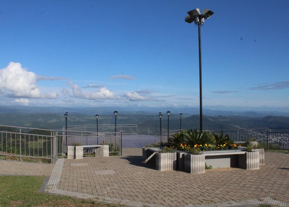 Morro Alto da Pedra, em Igrejinha. Foto: Lilian Moraes