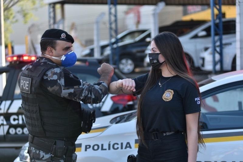 Integração das forças de segurança se reflete nos resultados positivos mantidos nesse início de 2021 Foto: Governo do Estado