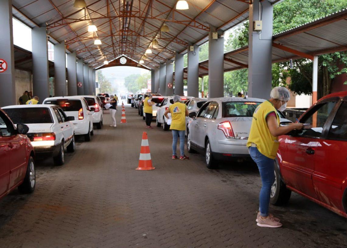 Drive-thru será amanhã na Rua Coberta. Foto: Cris Vargas / Prefeitura de Taquara