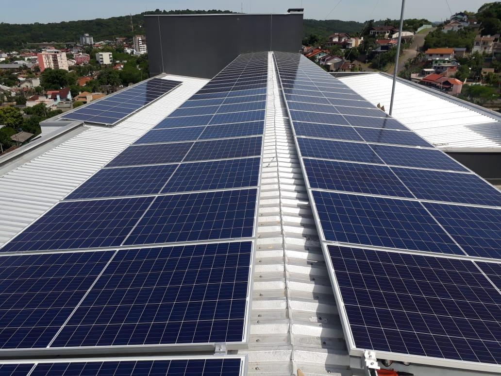 Hospital São Francisco de Assis já possui fonte de energia renovável desde 2019 Foto: RGE/Divulgação