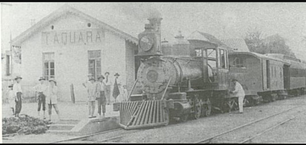 Estação ferroviária em Taquara Fotos: Acervo Pessoal/Antônio Carlos Junior