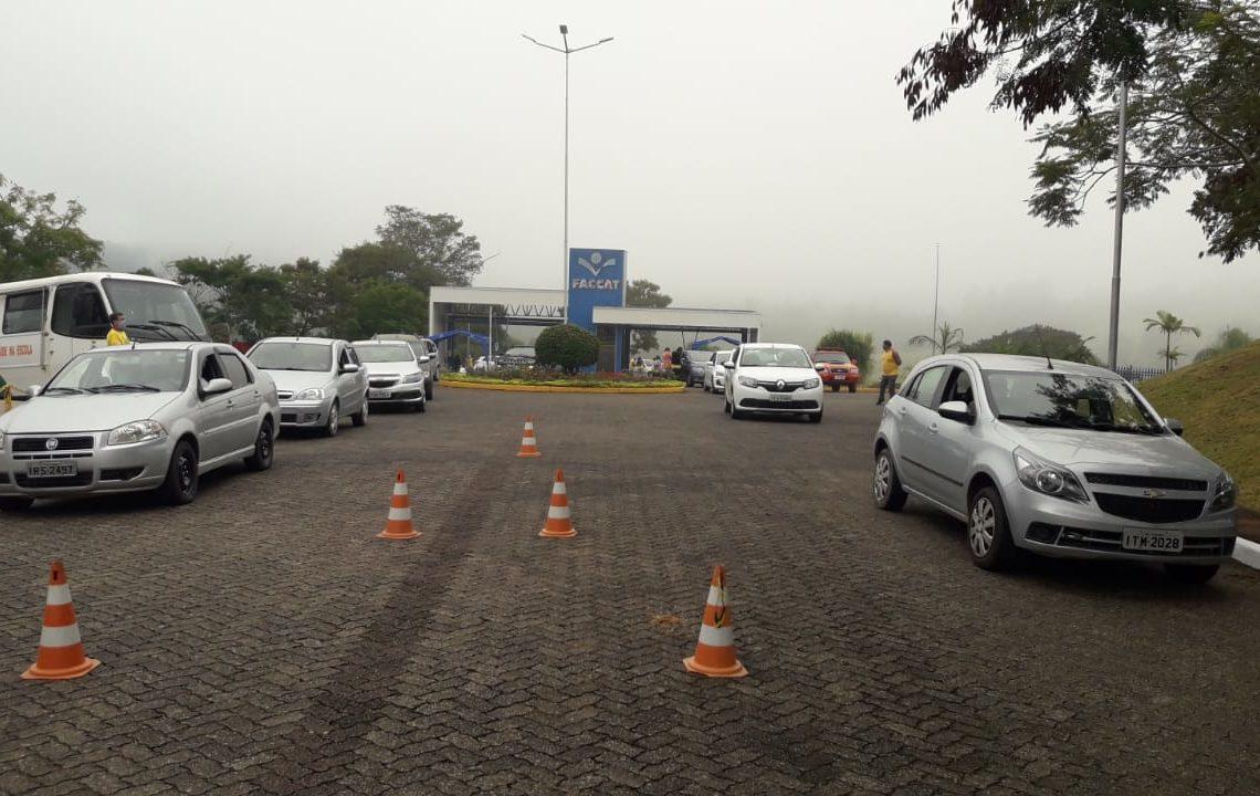 Imunização ocorrerá no campus da Faccat Foto: Prefeitura de Taquara