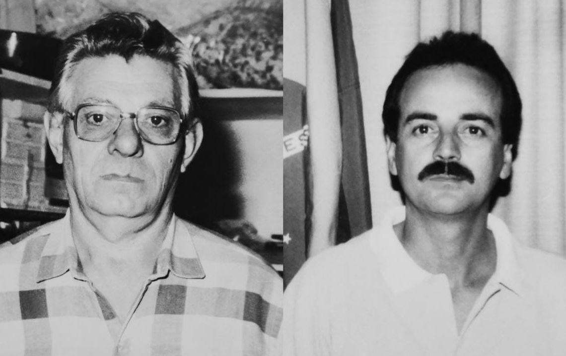 Armindo Barnart e Antônio Carlos Colombo Foto: Divulgação