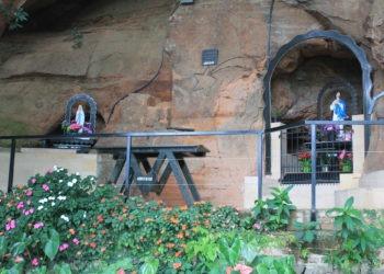 Nossa Senhora da Conceição e Nossa Senhora do Rosário, padroeira da Igreja que está situada na localidade  Fotos: Matheus de Oliveira