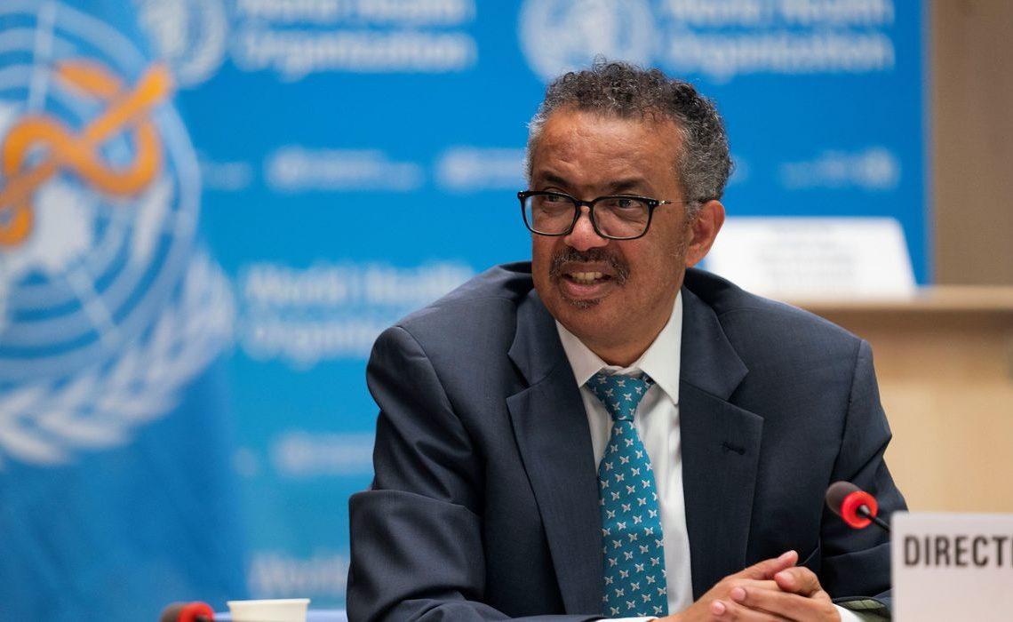 Diretor-geral da OMS, Tedros Adhanom Foto: Reuters/Chistopher Black/OMS