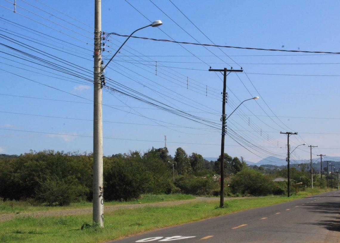 Principal demanda de manutenção é troca de lâmpadas queimadas. Foto: Matheus de Oliveira