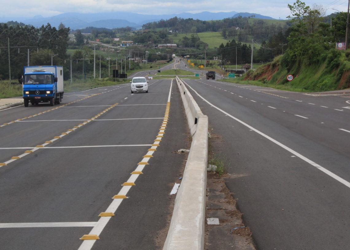 Necessidade de continuar a duplicação na rodovia é consenso entre os gestores. Foto: Matheus de Oliveira