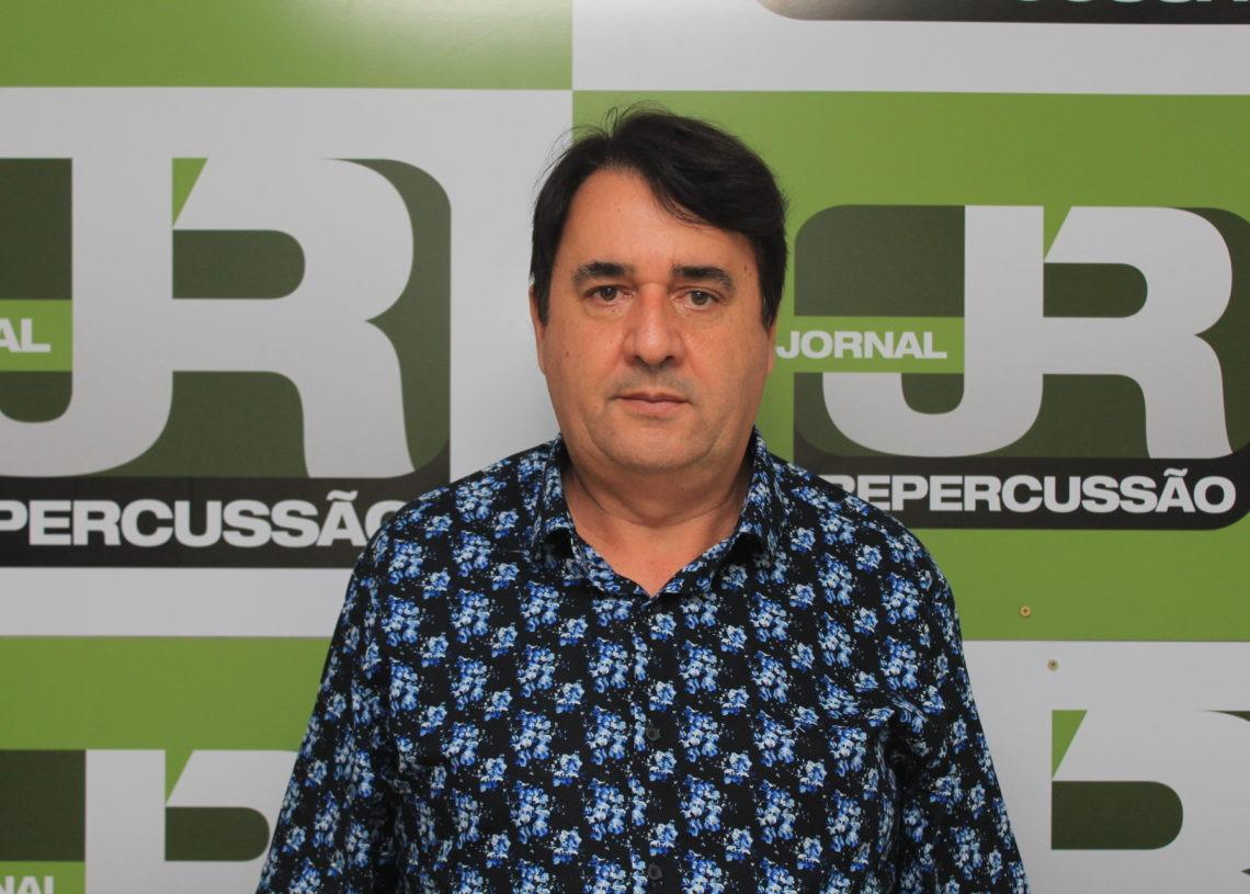 Prefeito de Rolante e presidente da Agesan, Pedro Rippel Foto: Matheus de Oliveira